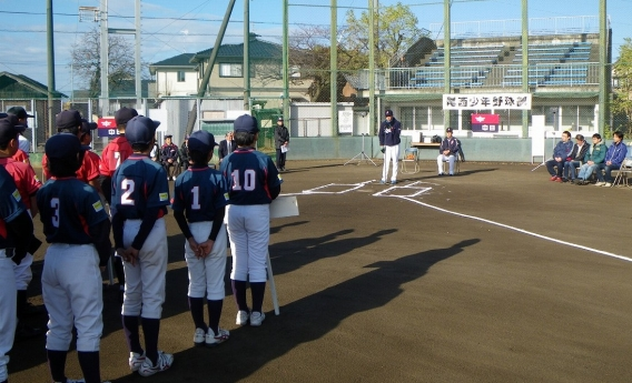 第8回中日ドラゴンズ少年野球教室が開催されました。